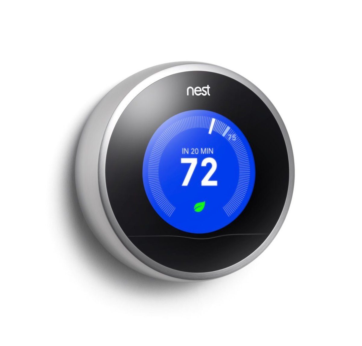 Nest Thermostats make your home more energy efficient by learning your behaviors and adjusting the temperature accordingly