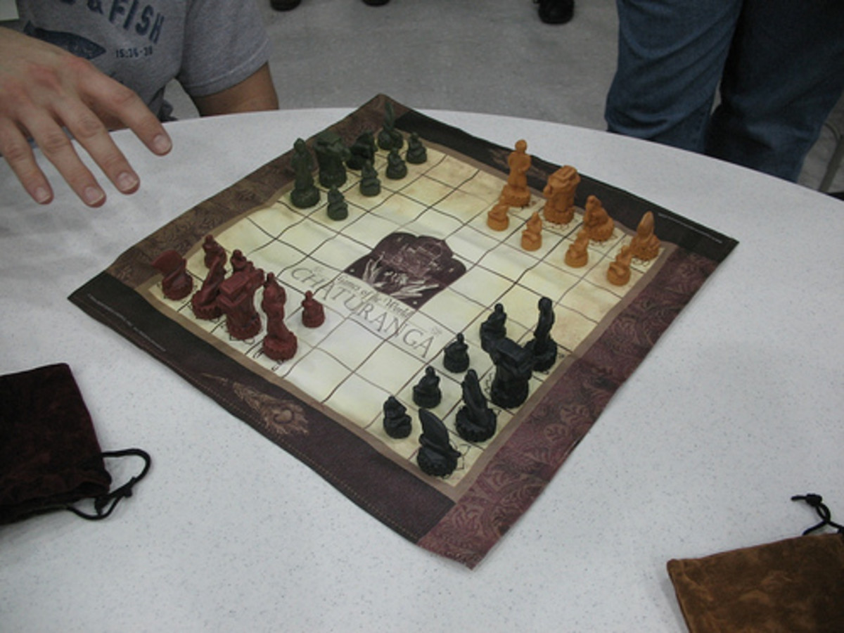Chaturanga - Four Player Chess With Dice!