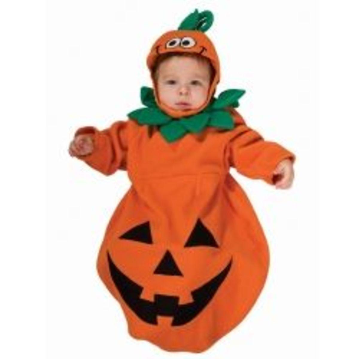 Pumpkin Baby Bunting Costume