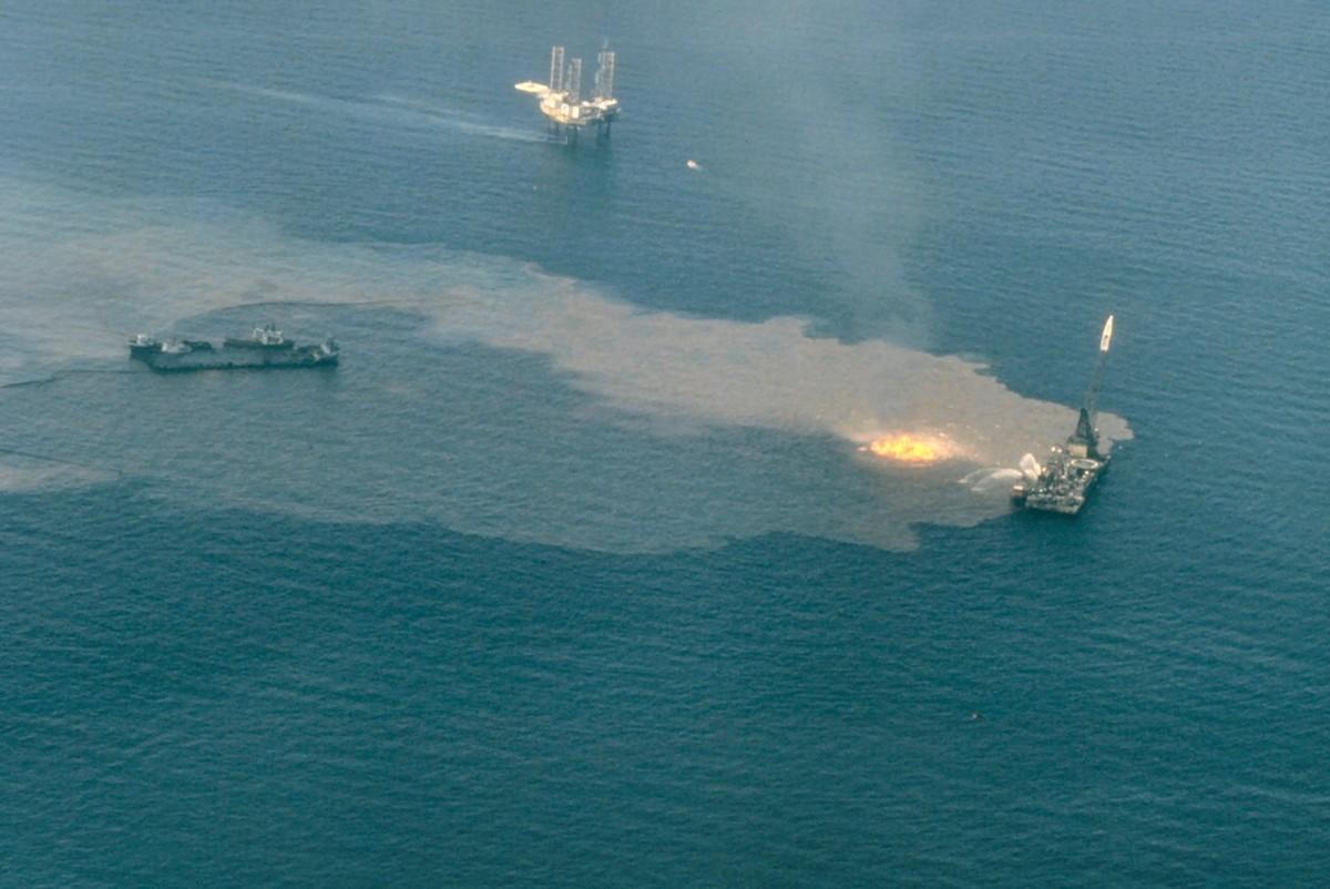Ixtoc I wellhead blowout - Bay of Campeche