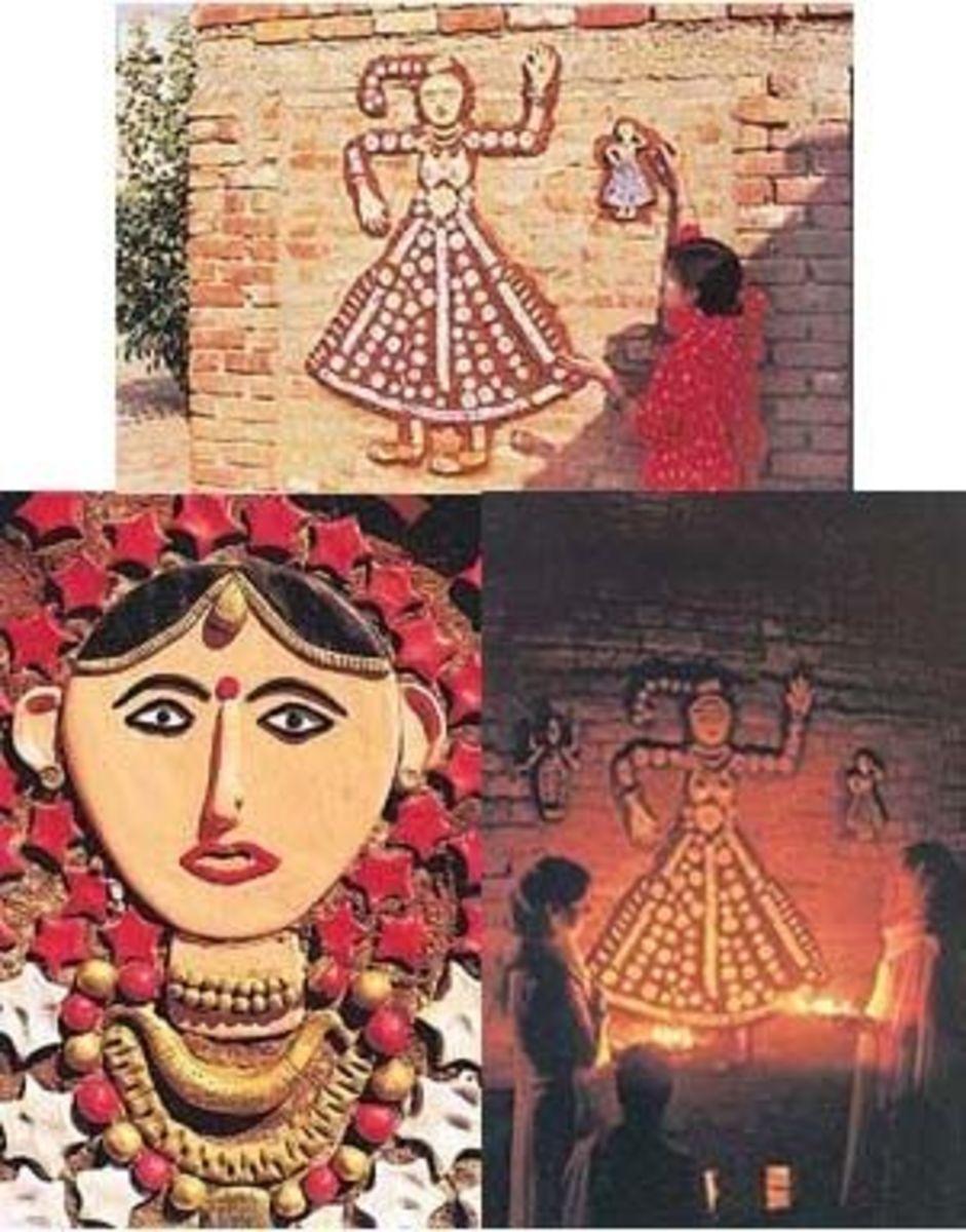 Traditional Sanjhi