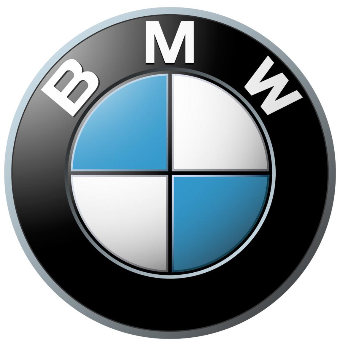 The BMW logo