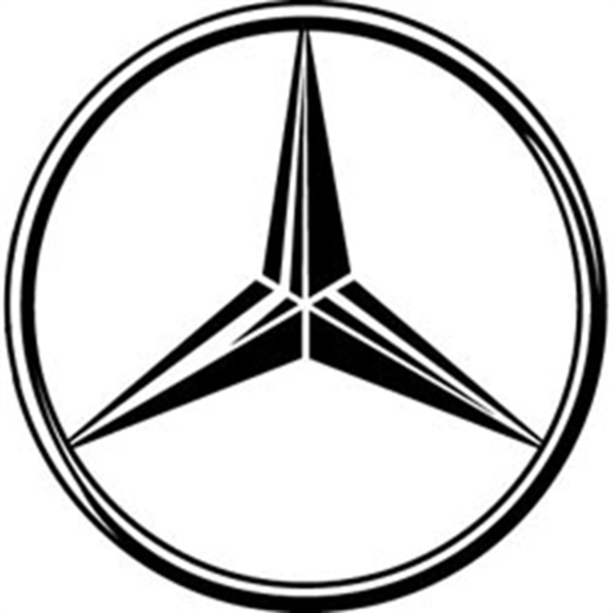 The Mercedes Benz logo