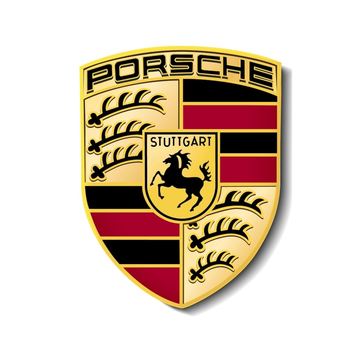 The Porsche logo