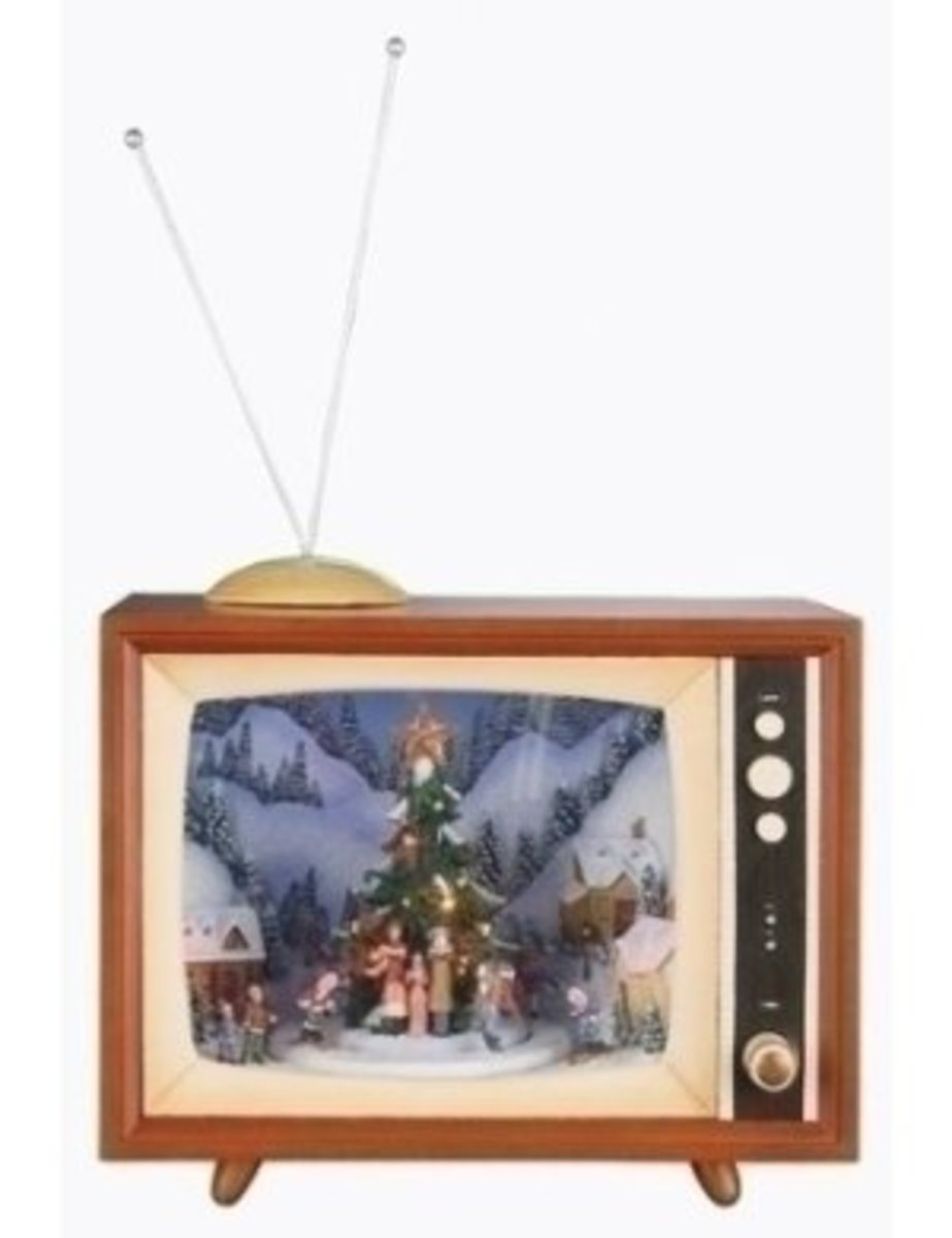 Watch your favourite Xmas scenes on tV