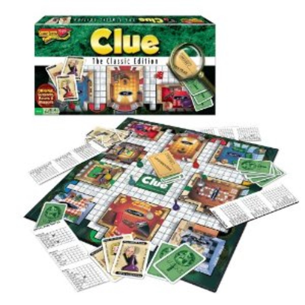 """The original """"whodunnit"""" game."""