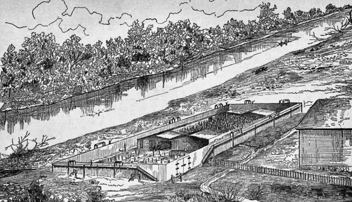 Raw Cahaba Prison
