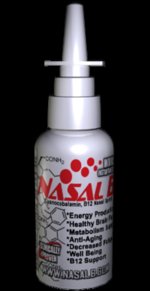 Nasal B - Vitamin B12 Nasal Spray