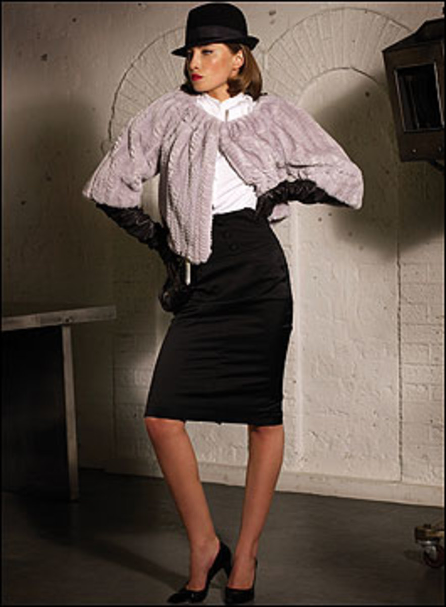 Shrugs are a great vintage 1940's item