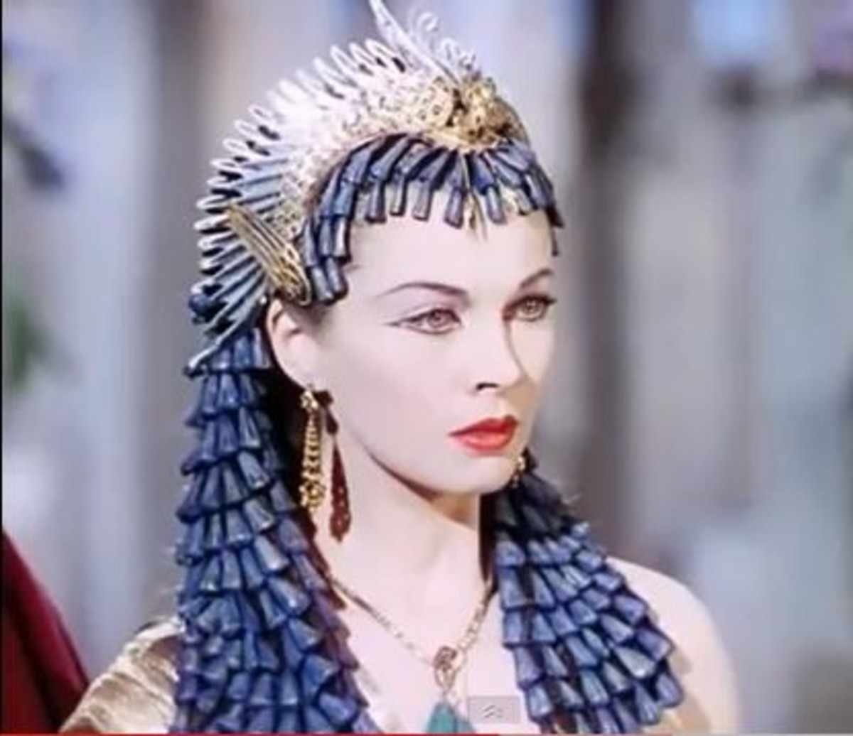 Vivien Leigh in Cleopatra and Ceasar (1945)