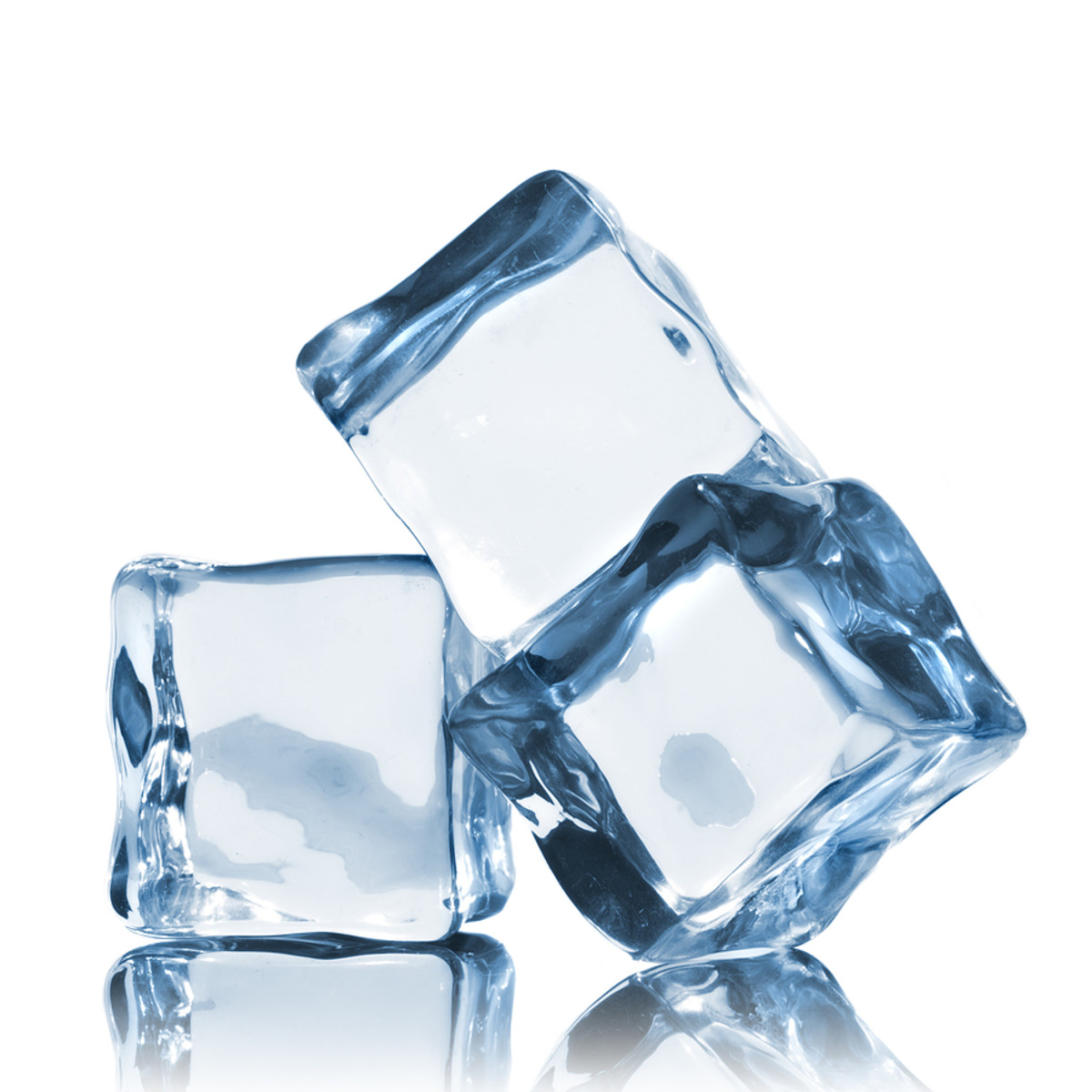 NEVER apply ice directly to your skin!