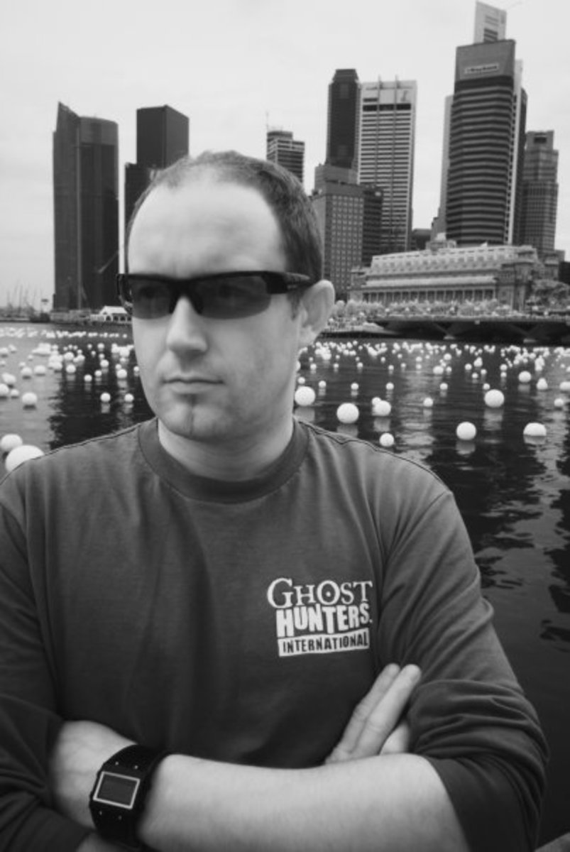 Ghost Hunters International's (GHI) Barry Fitzgerald on his Book