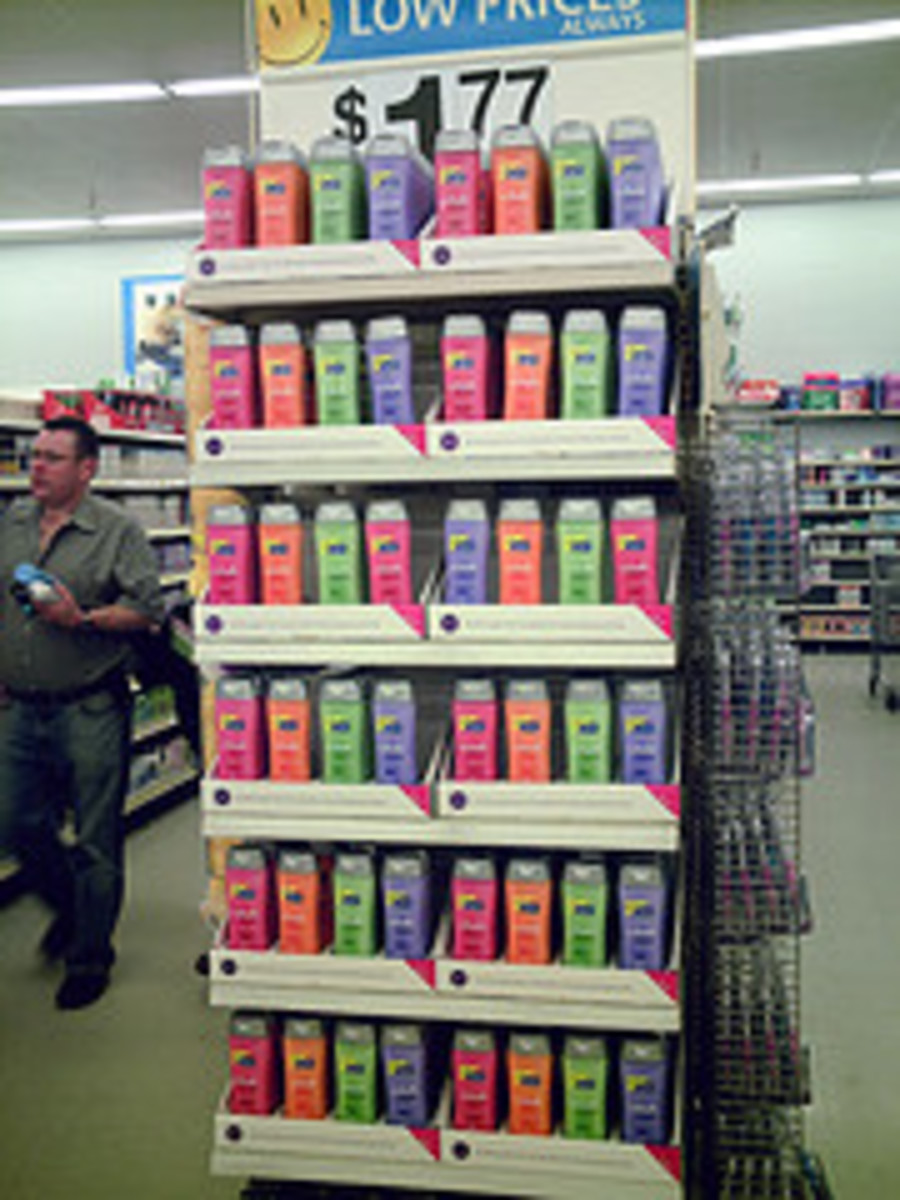 The Cost of Making Shampoo
