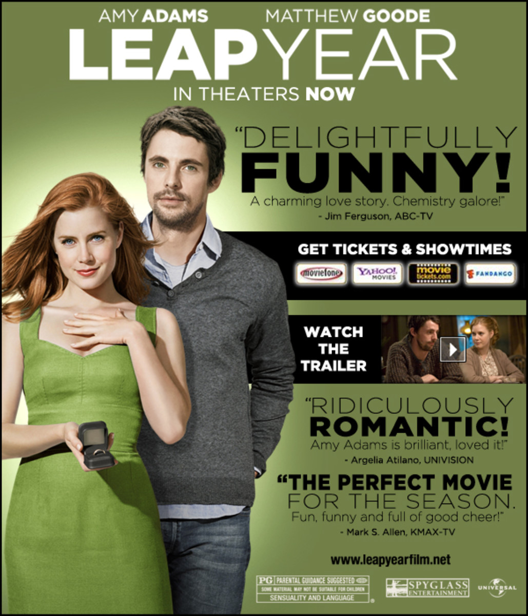 Movie Review on Leap Year - A film you would want to see more than twice