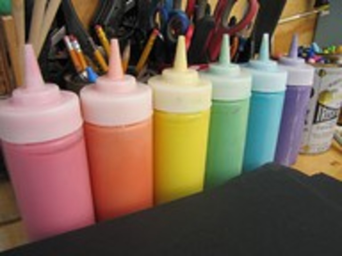 Home Made Puffy Paint