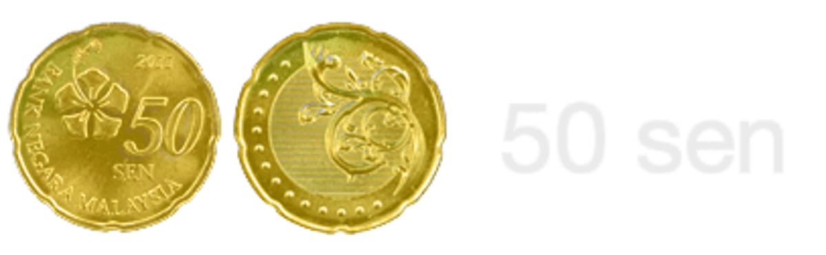 Image of new 50 sen coin