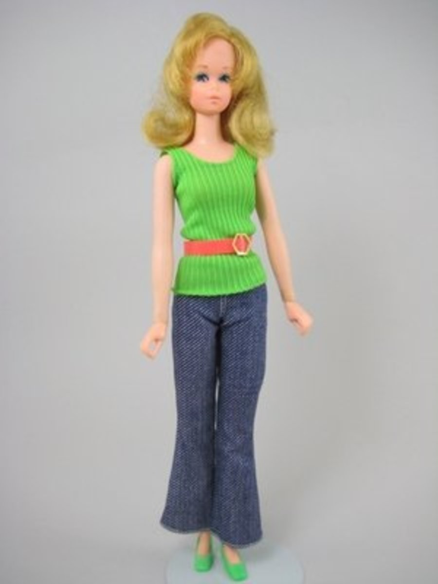 1972 - Francie Doll's Fancy Clothes