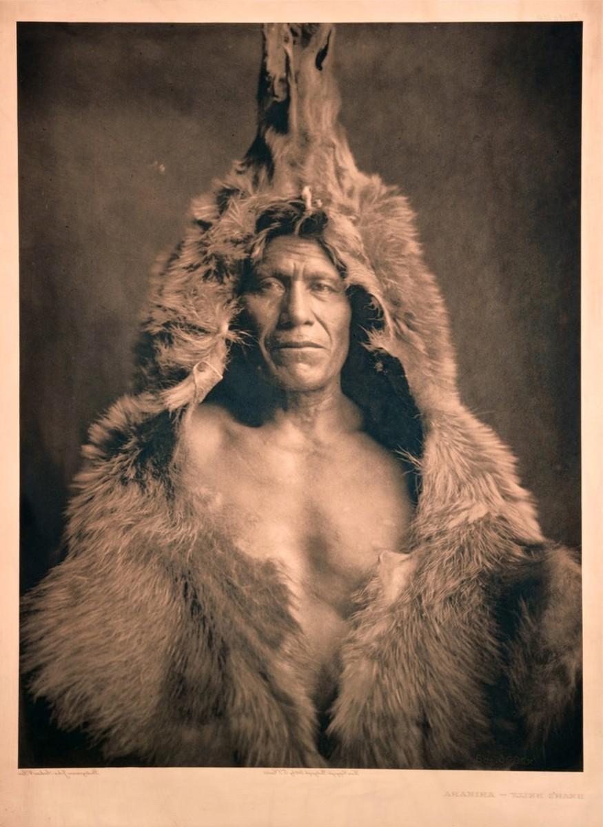 Bear's Belly, an Arikara (1909).