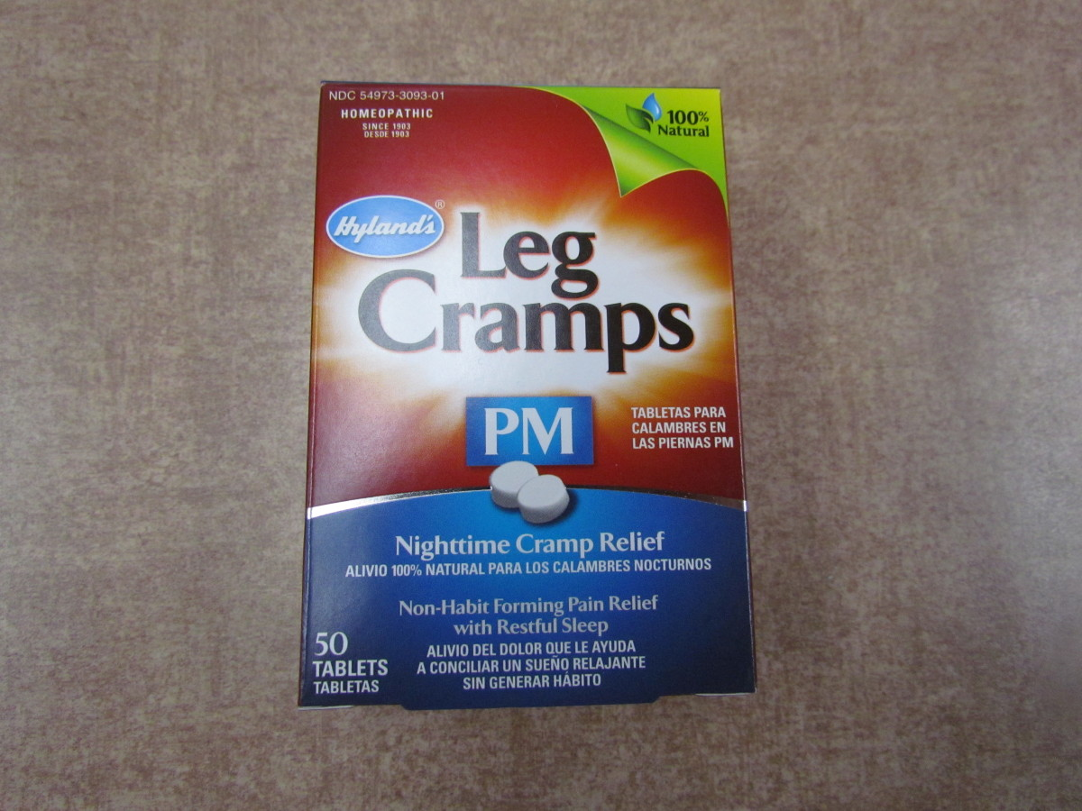 A homeopathic remedy for Leg Cramps by Hylands