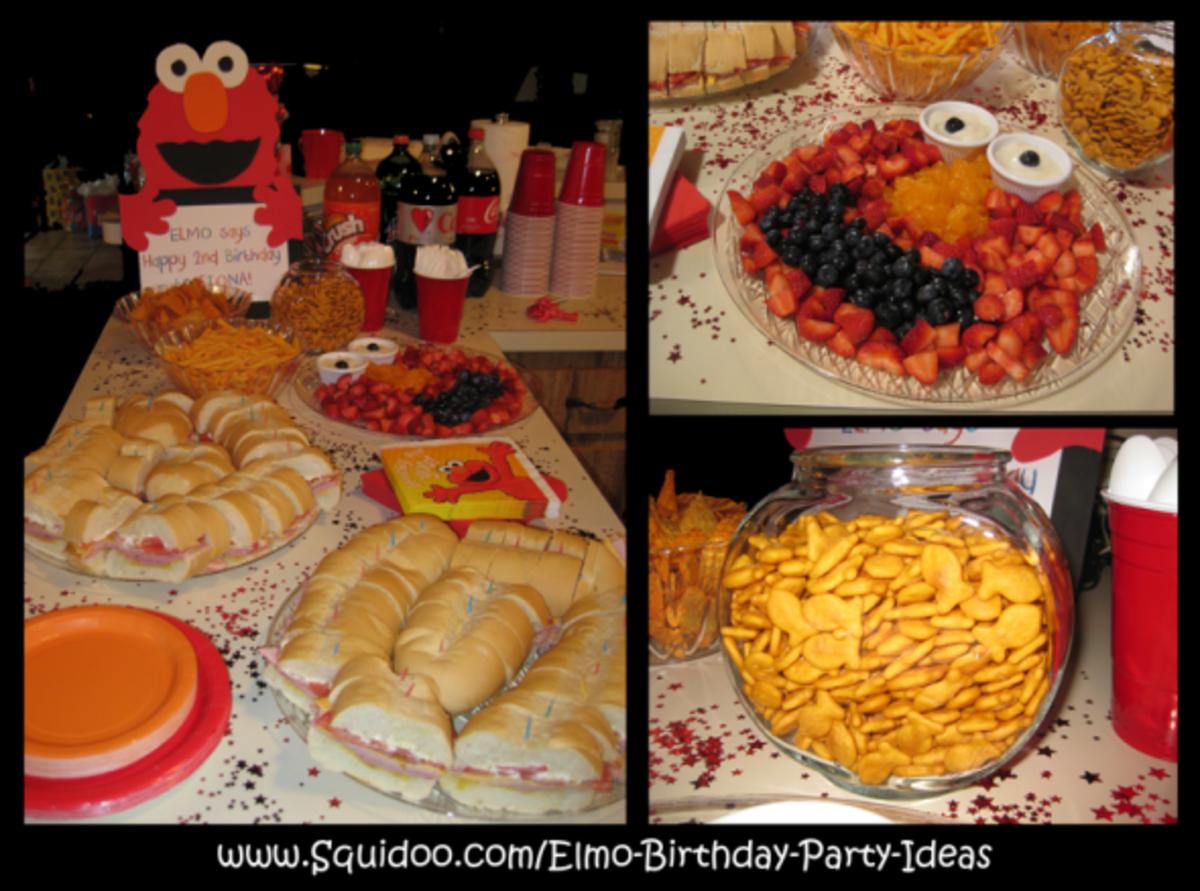 Elmo Food