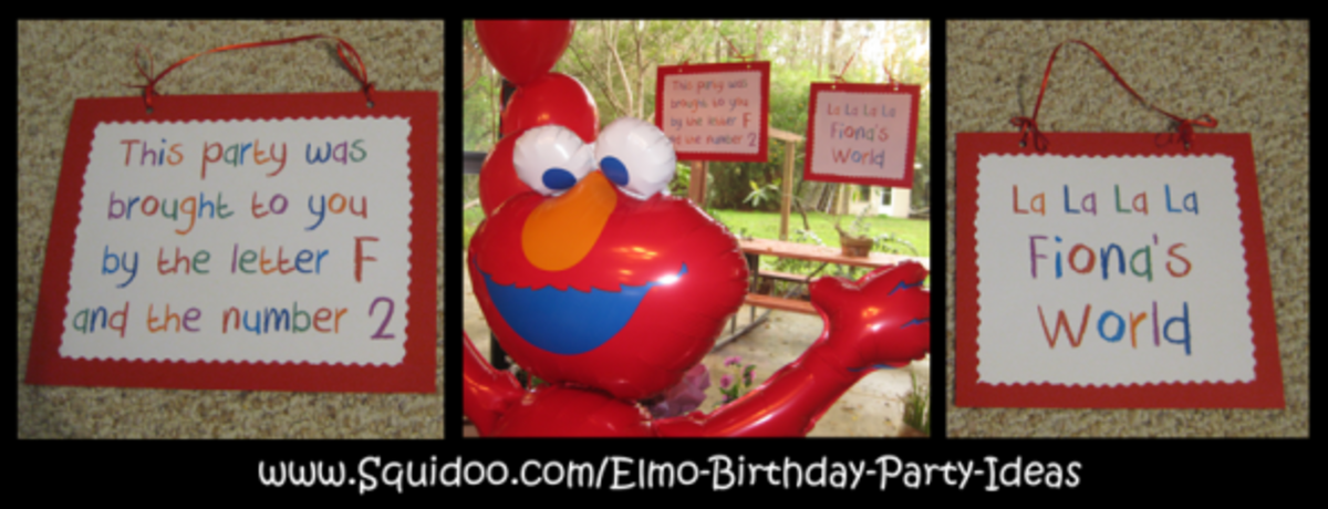 personalized elmo signs
