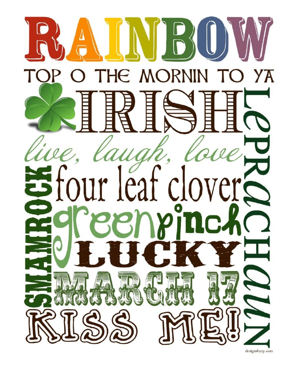 22 Free Printables for St. Patrick's Day