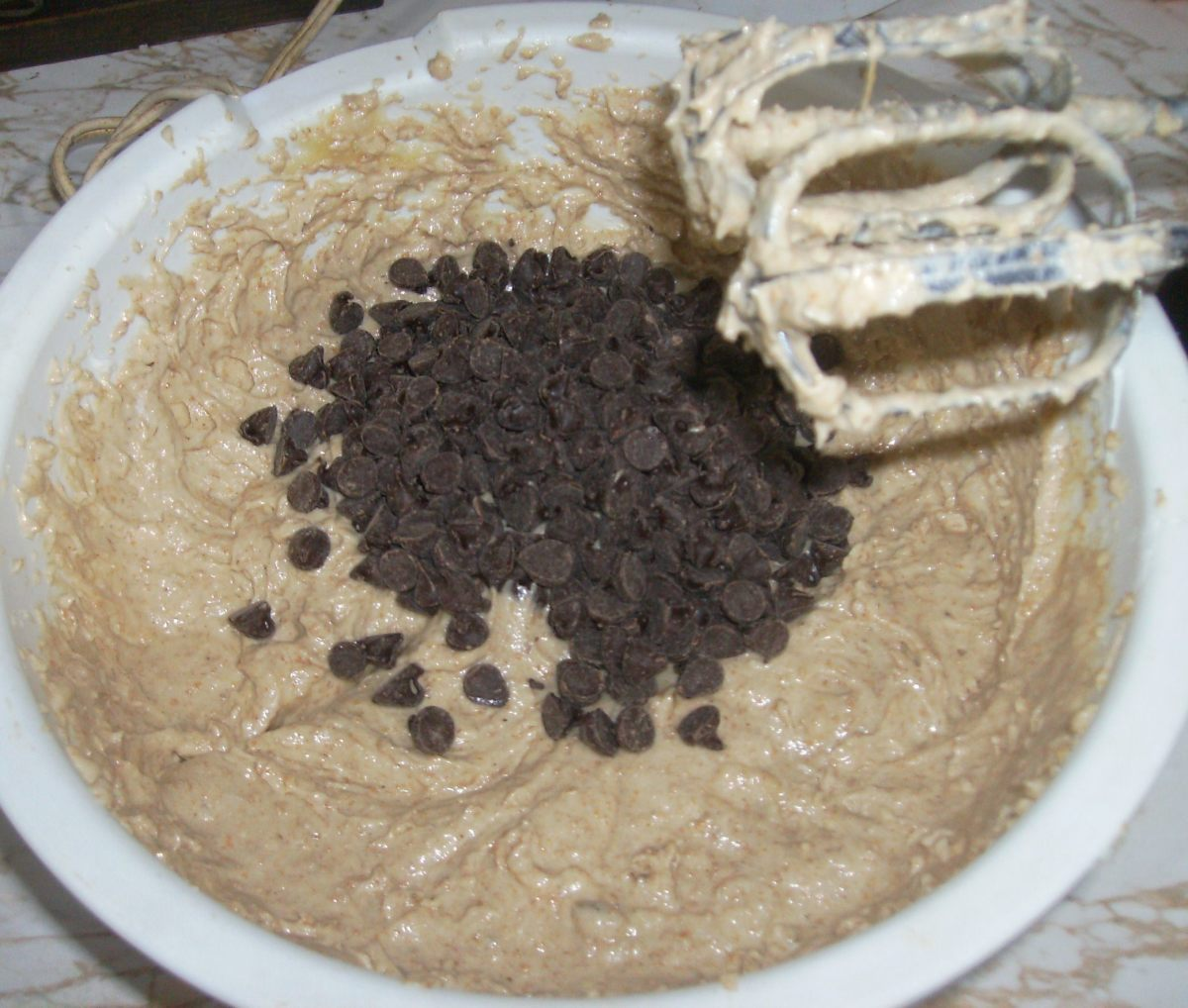 I love adding chocolate chips!