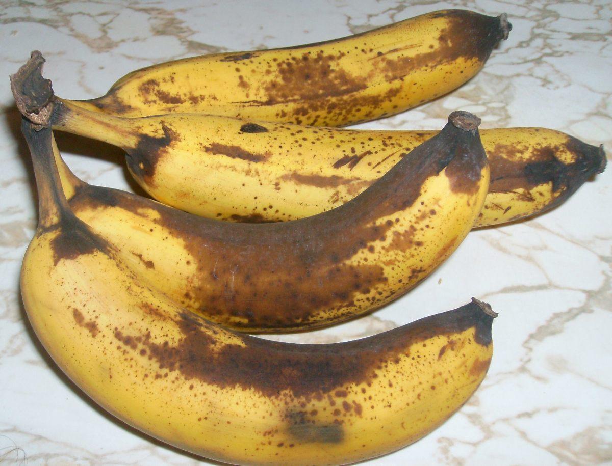 Bananas starting to get too ripe....