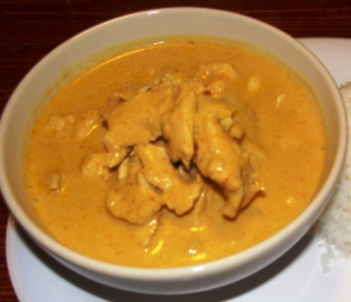 Chicken in Yellow Curry Sauce Recipe
