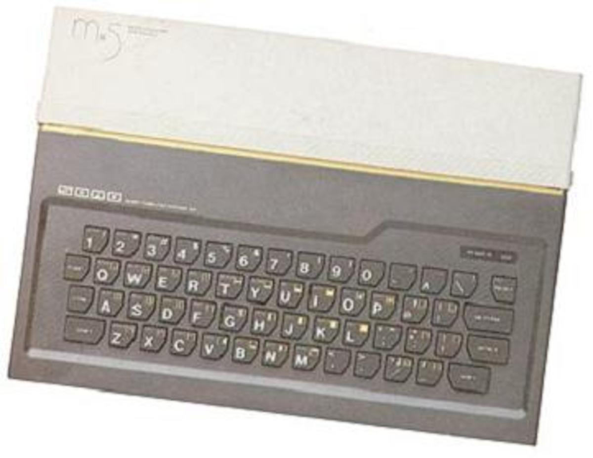 The SORD M5 - It's kinda cool in a retro way...