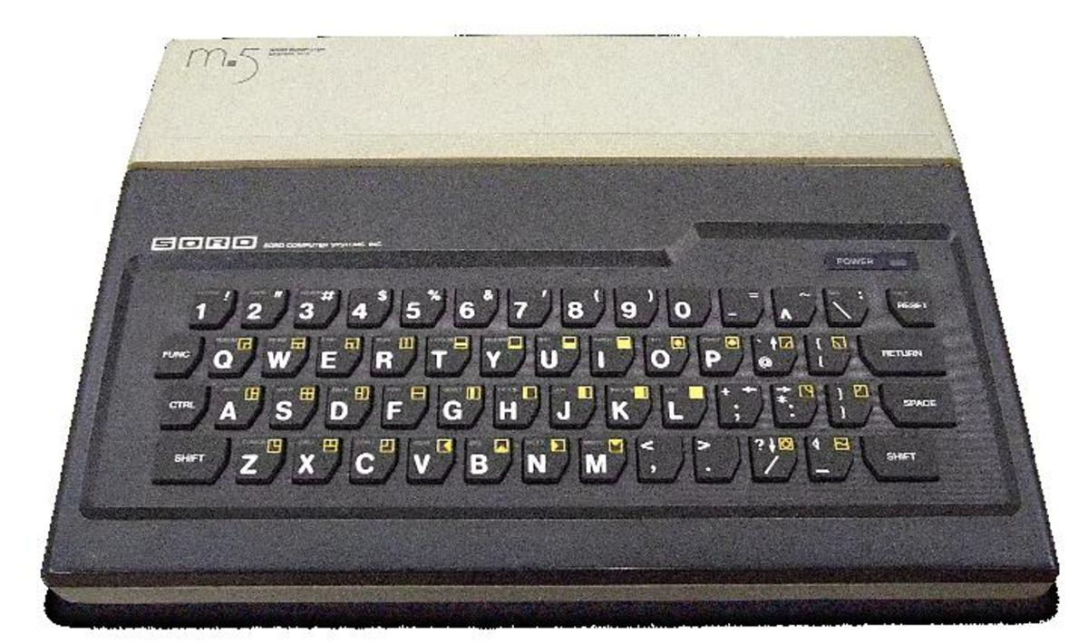 Not a bad looking piece of kit - The SORD M5 8-Bit micro-computer