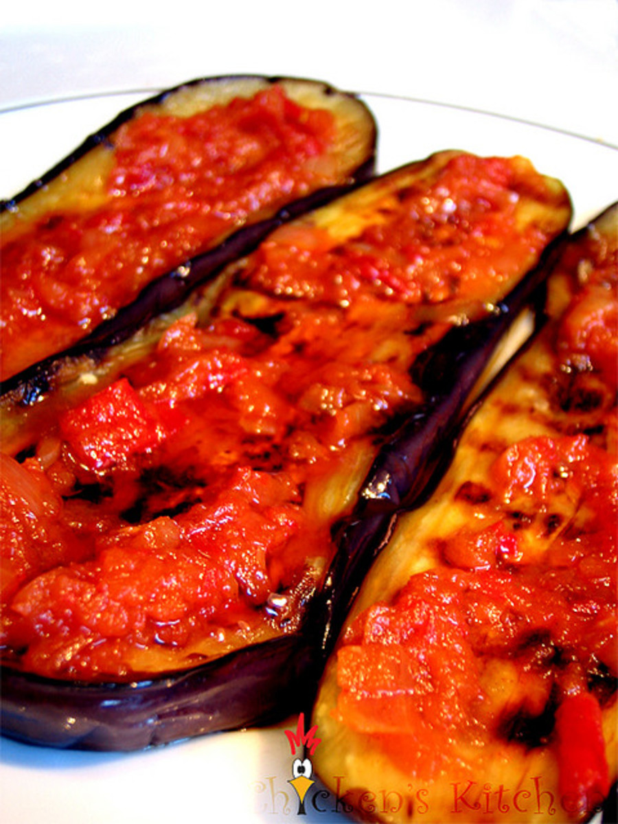 Balado Terong (Indonesian Hot Spicy Eggplant)