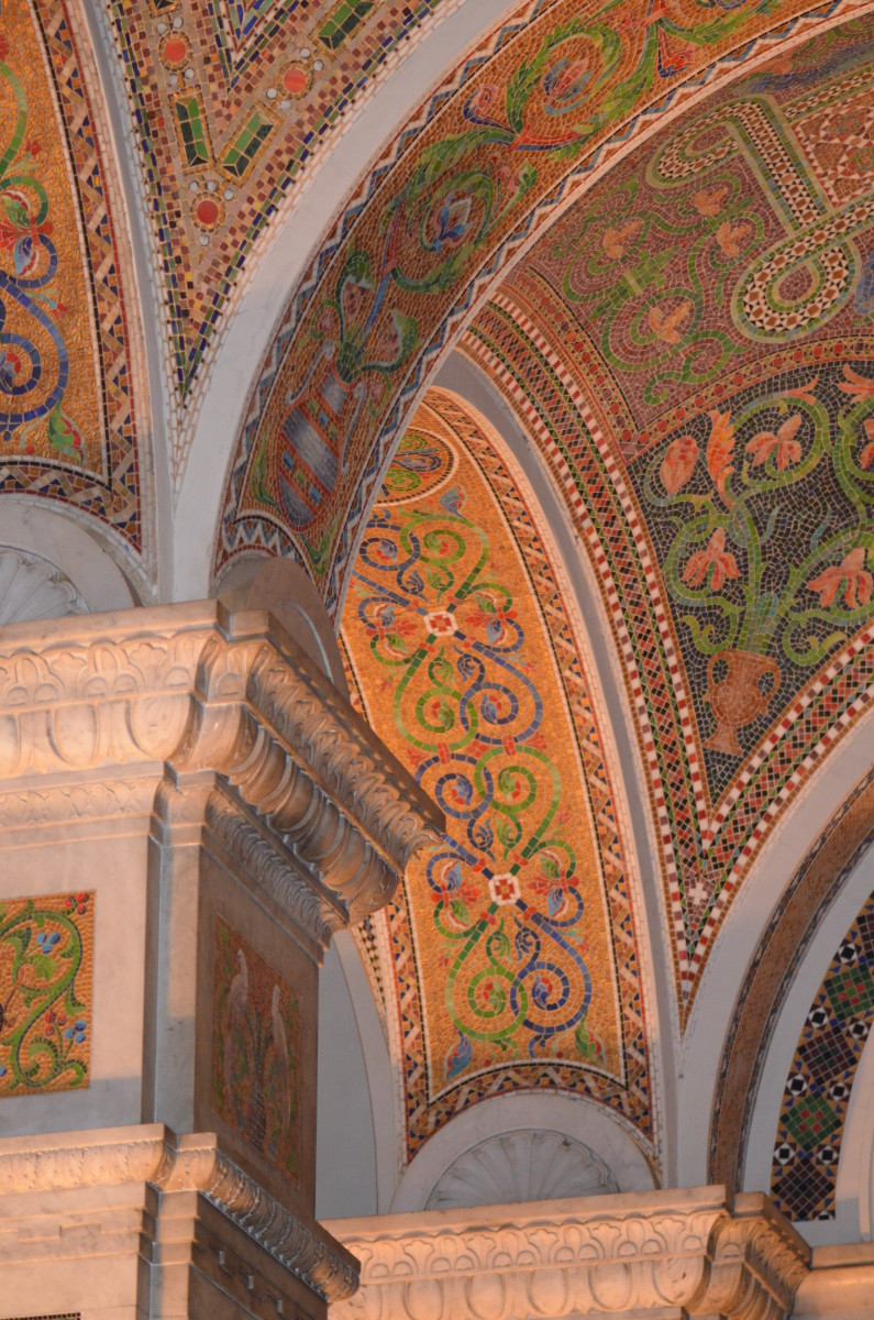 Mosaic Art - At the Cathedral Basilica of St. Louis