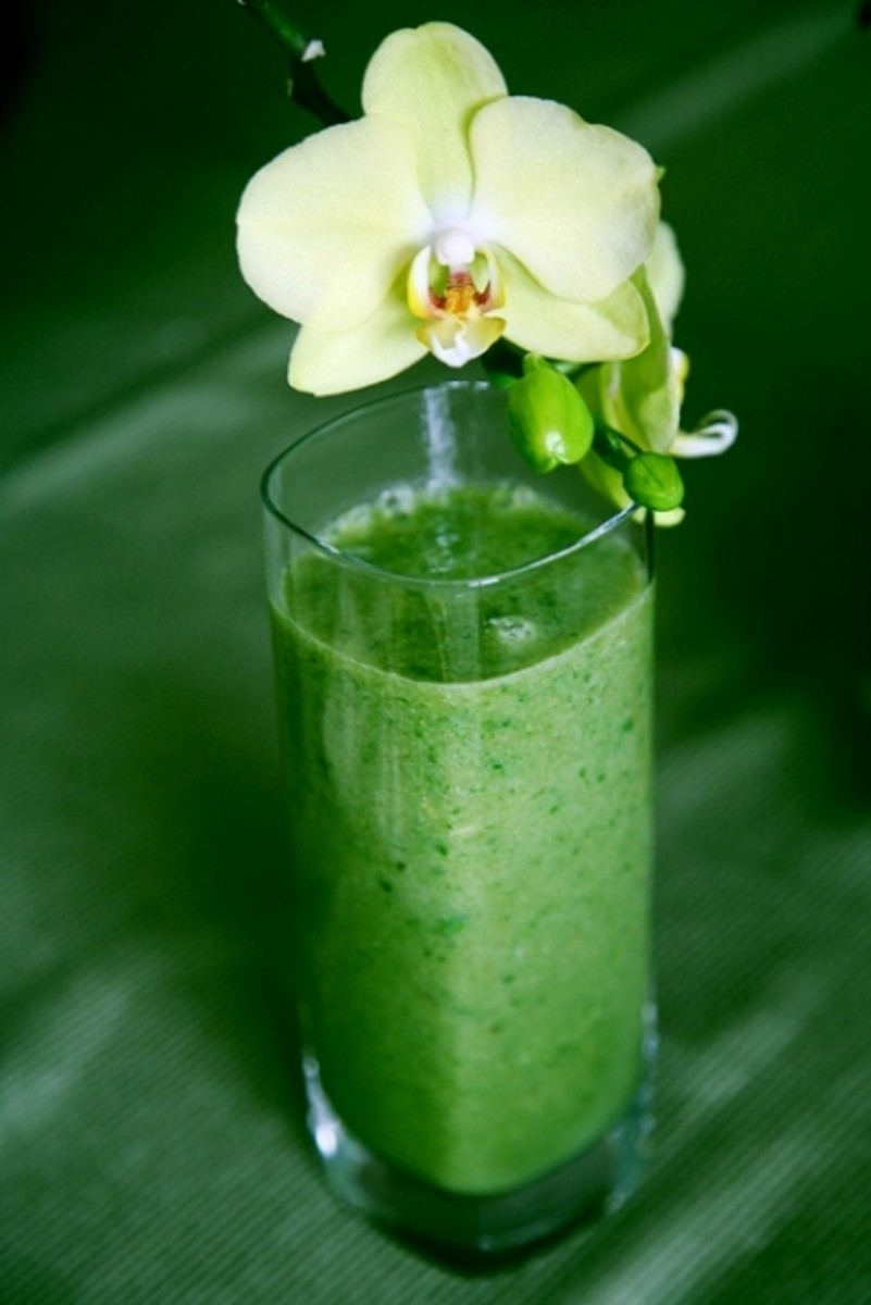 Vegetable Green Smoothie Love