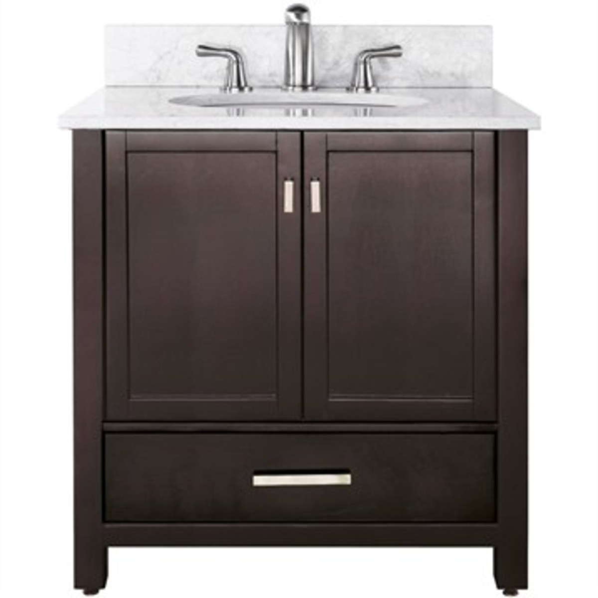 This look-alike vanity by Avanity comes in lower than mall store vanity prices and gives you great quality and style.