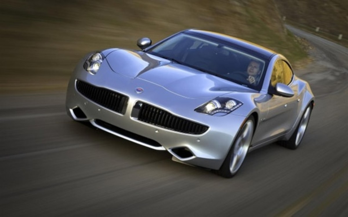 Fisker KARMA featured in Top Gear magazine