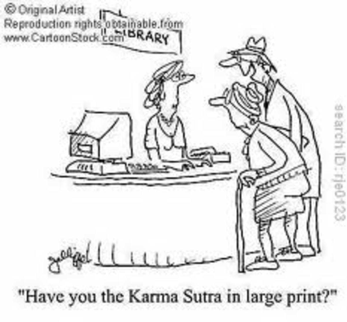 Found 'The KAMA Sutra,' too, when searching for KARMA