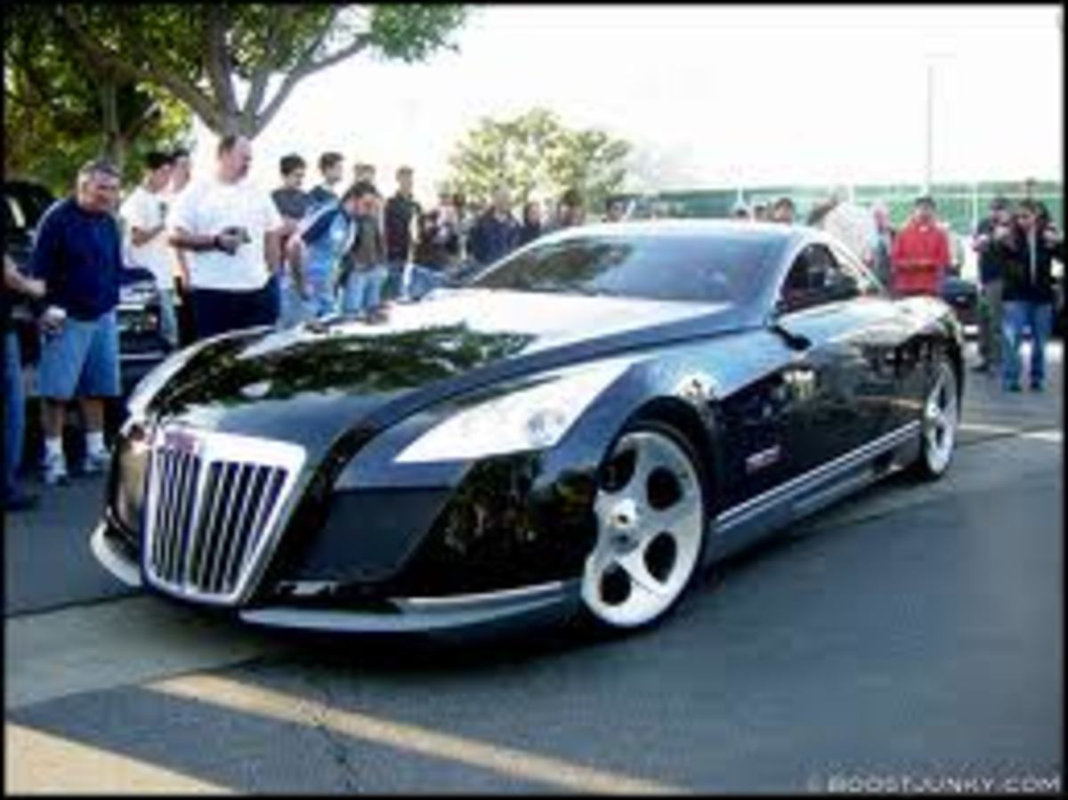$8,500,000 Maybach Exelero