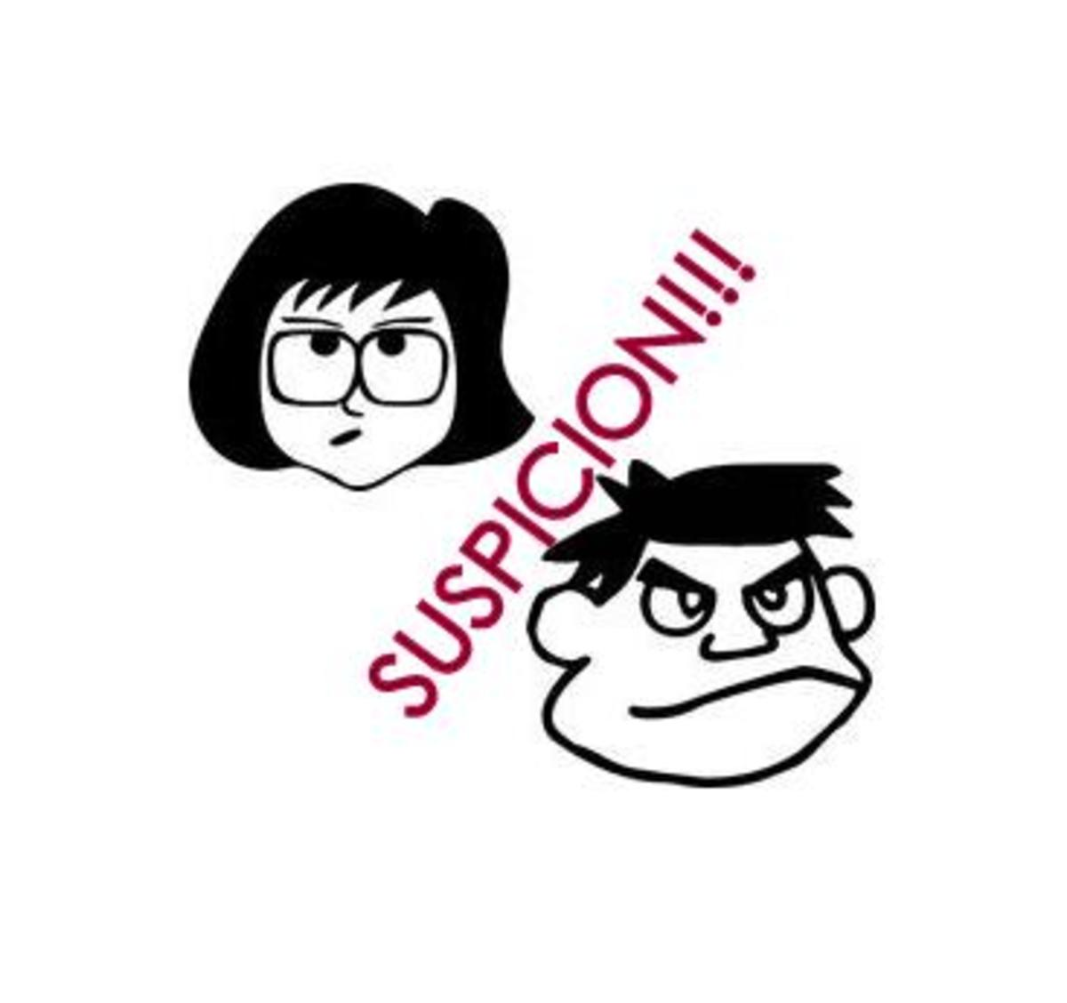 Can suspicion kill a relationship? Dealing with a suspicious Husband or Wife