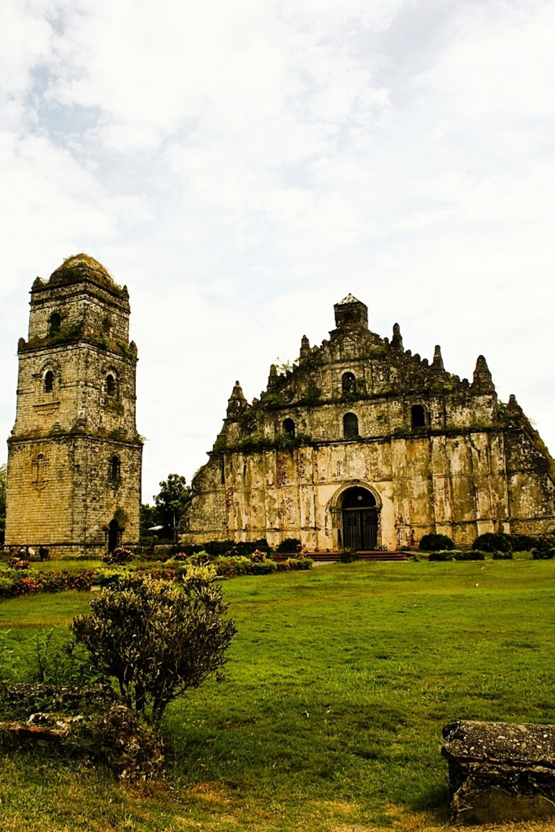 Church of San Agustin or Paoay Church, a Classic Philippine Baroque-Style Church