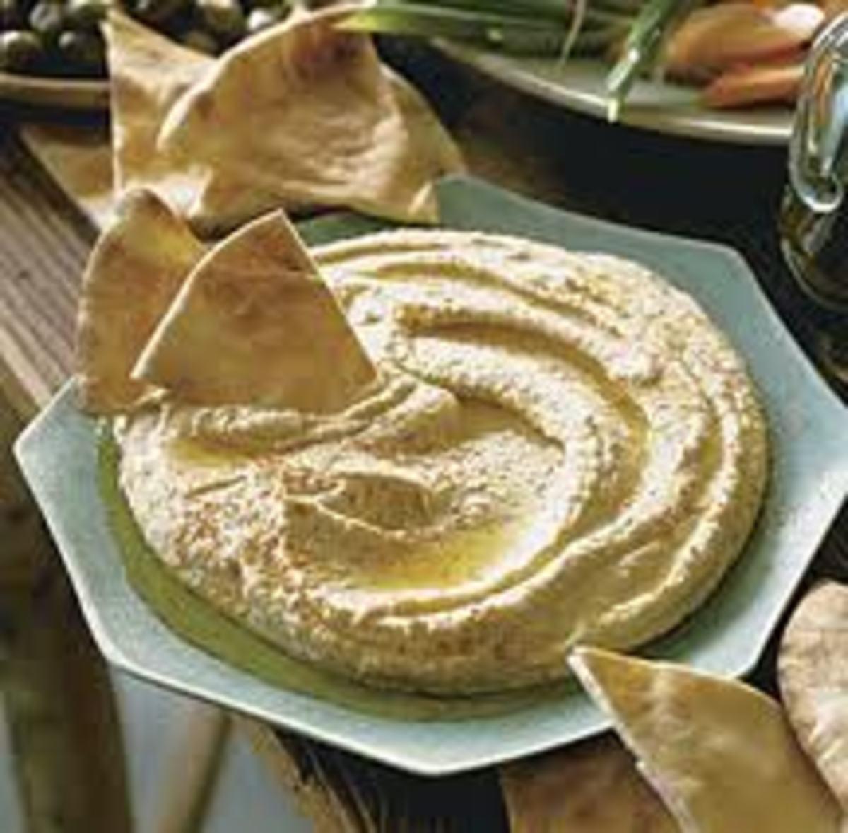 Easy Greek Mediterranean dishes....The best authentic Greek Hummus recipe