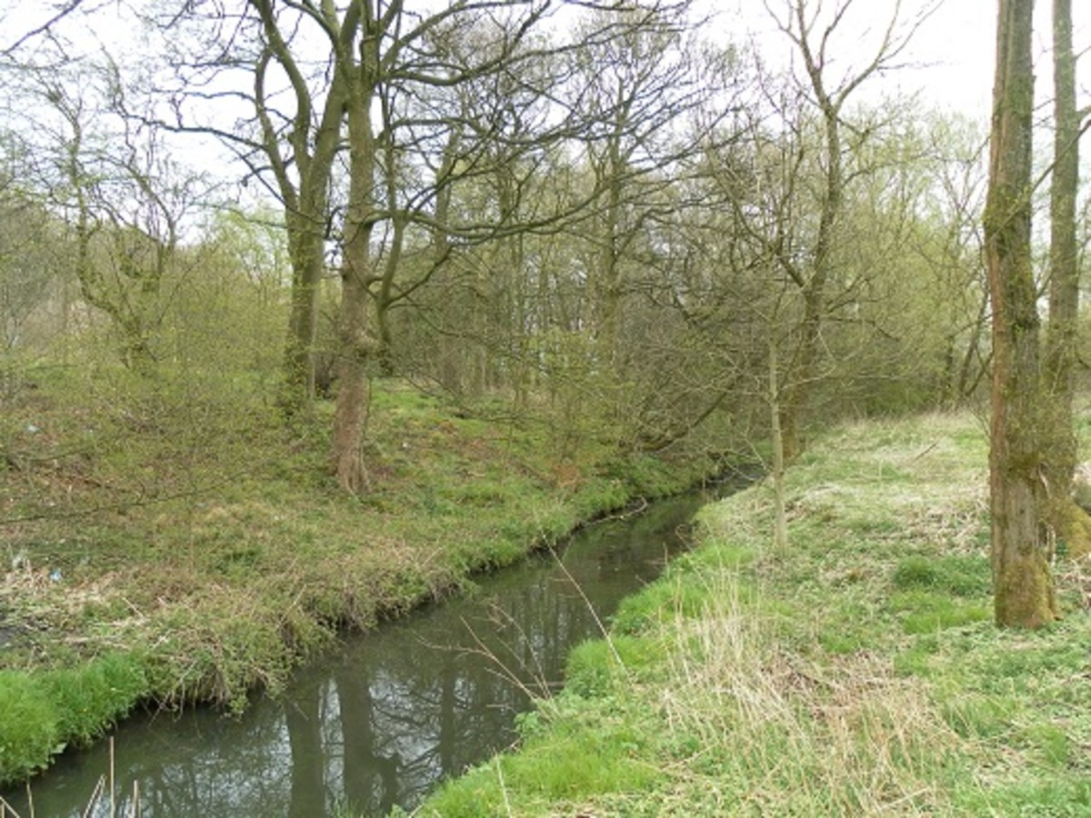 Sweet Clough - a stream running through Burnley