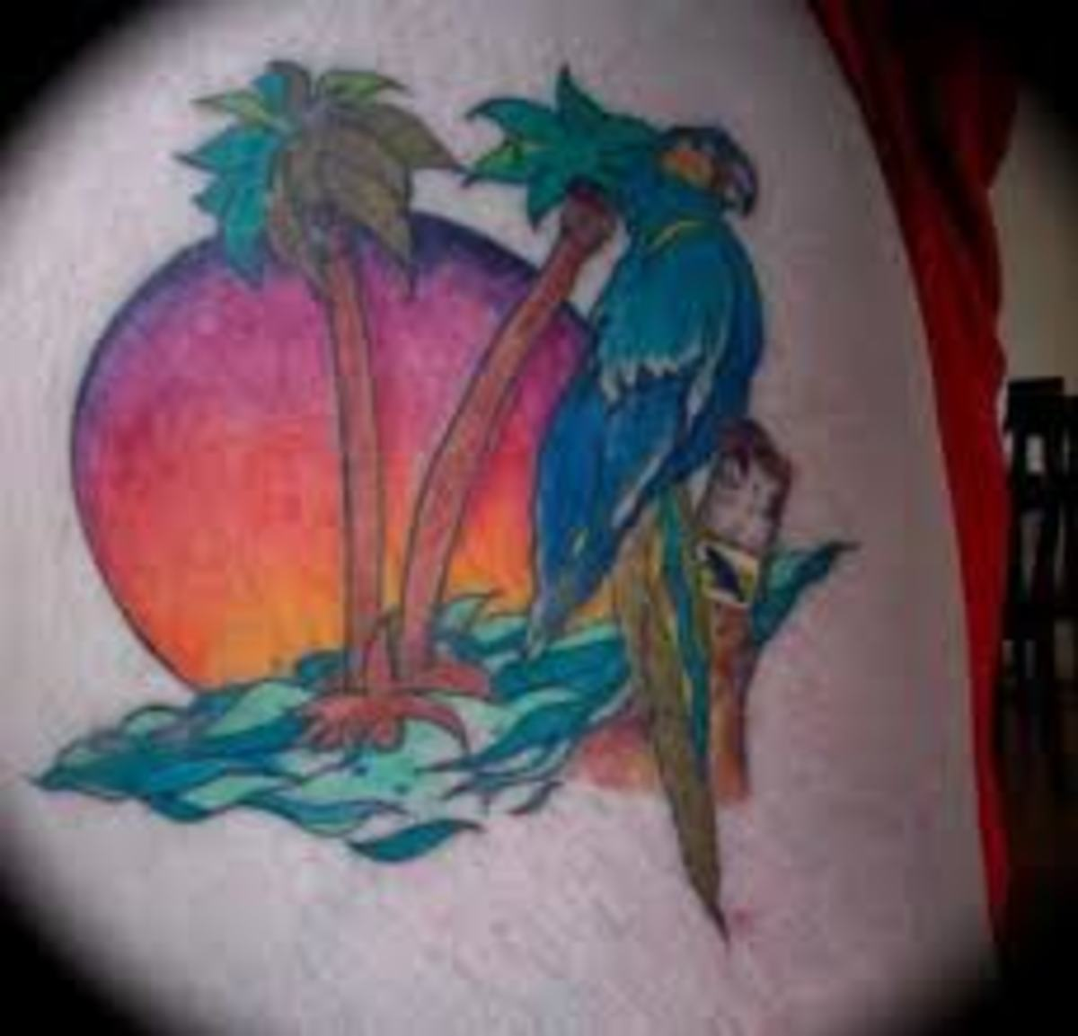 parrot-tattoos-and-meanings