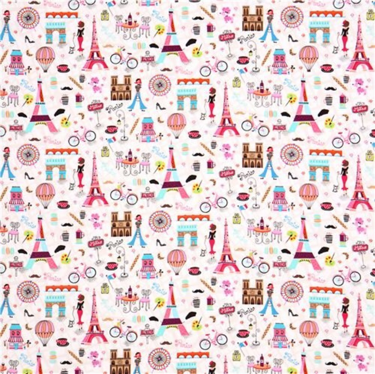 April in Paris Fabric by Timeless Treasures available on Amazon.com