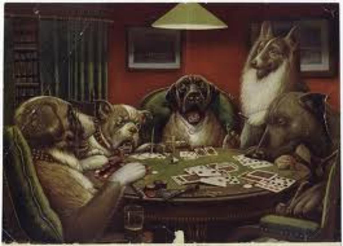 The Classic Poker Dogs!