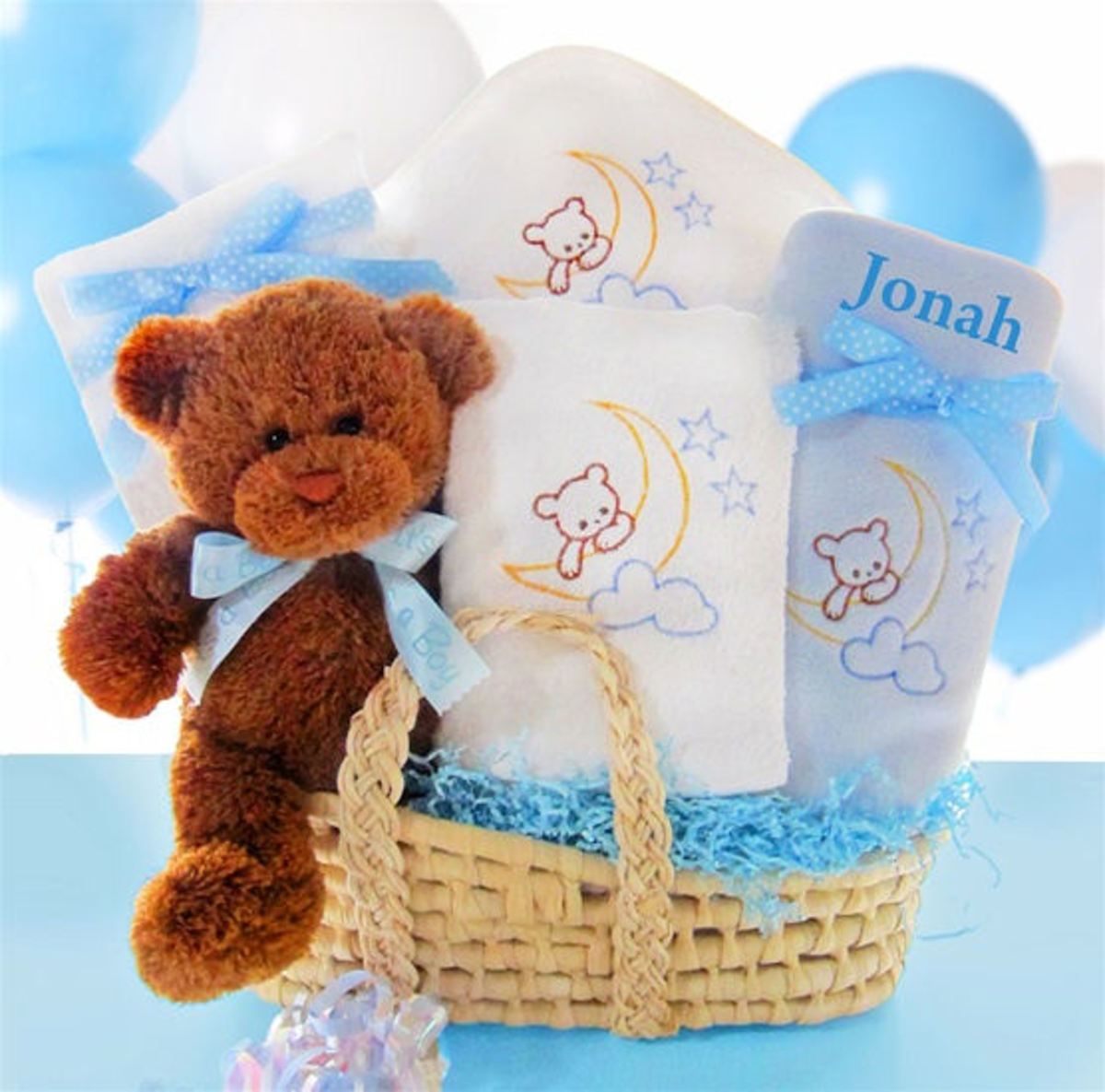 Beary Special Arrival Moses Basket