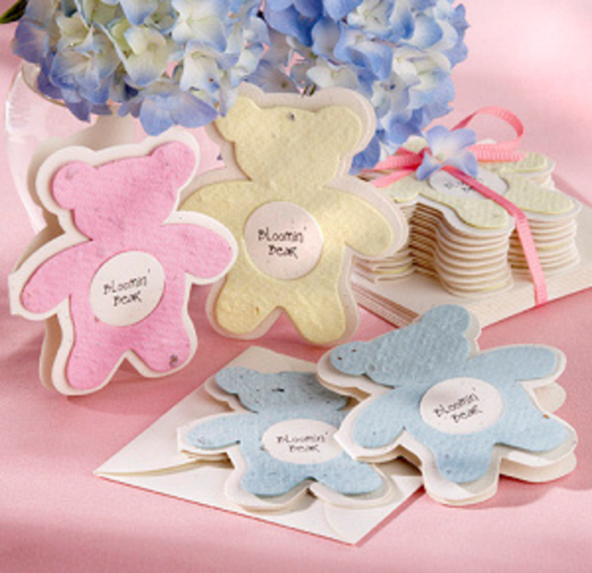 Teddy Bear Seed Packet Favors
