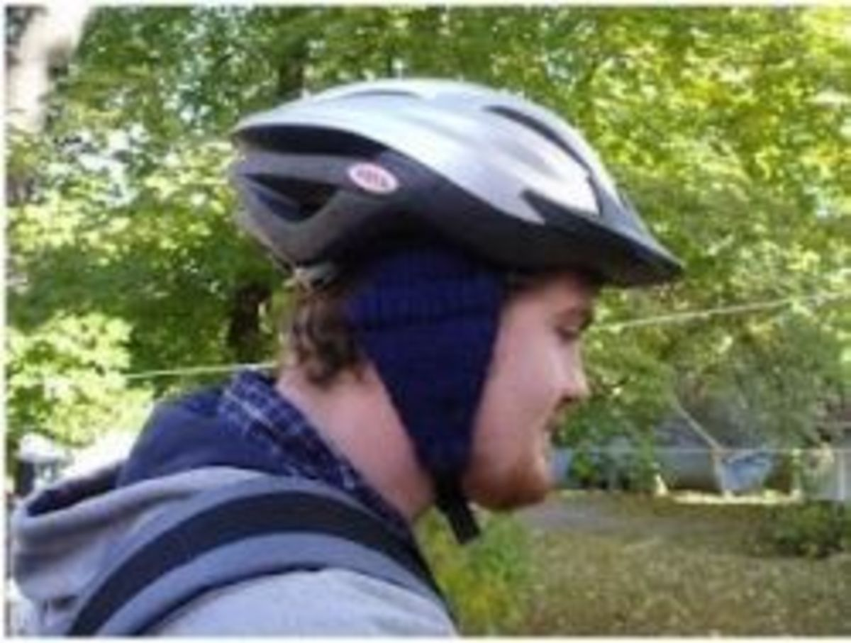 Bike Helmet Earmuffs