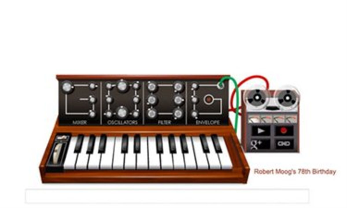 Moog synthesizer