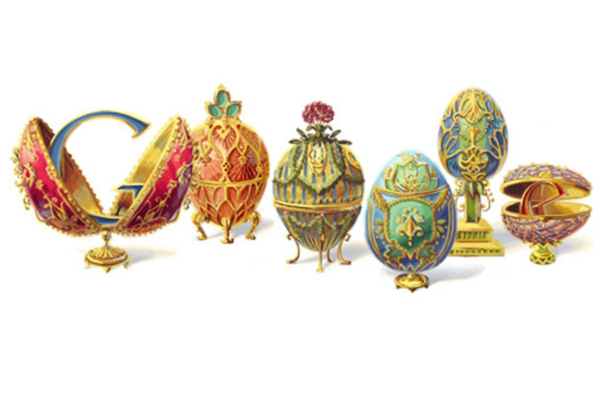 Peter Carl Fabergé 166th anniversary May 30th 2012